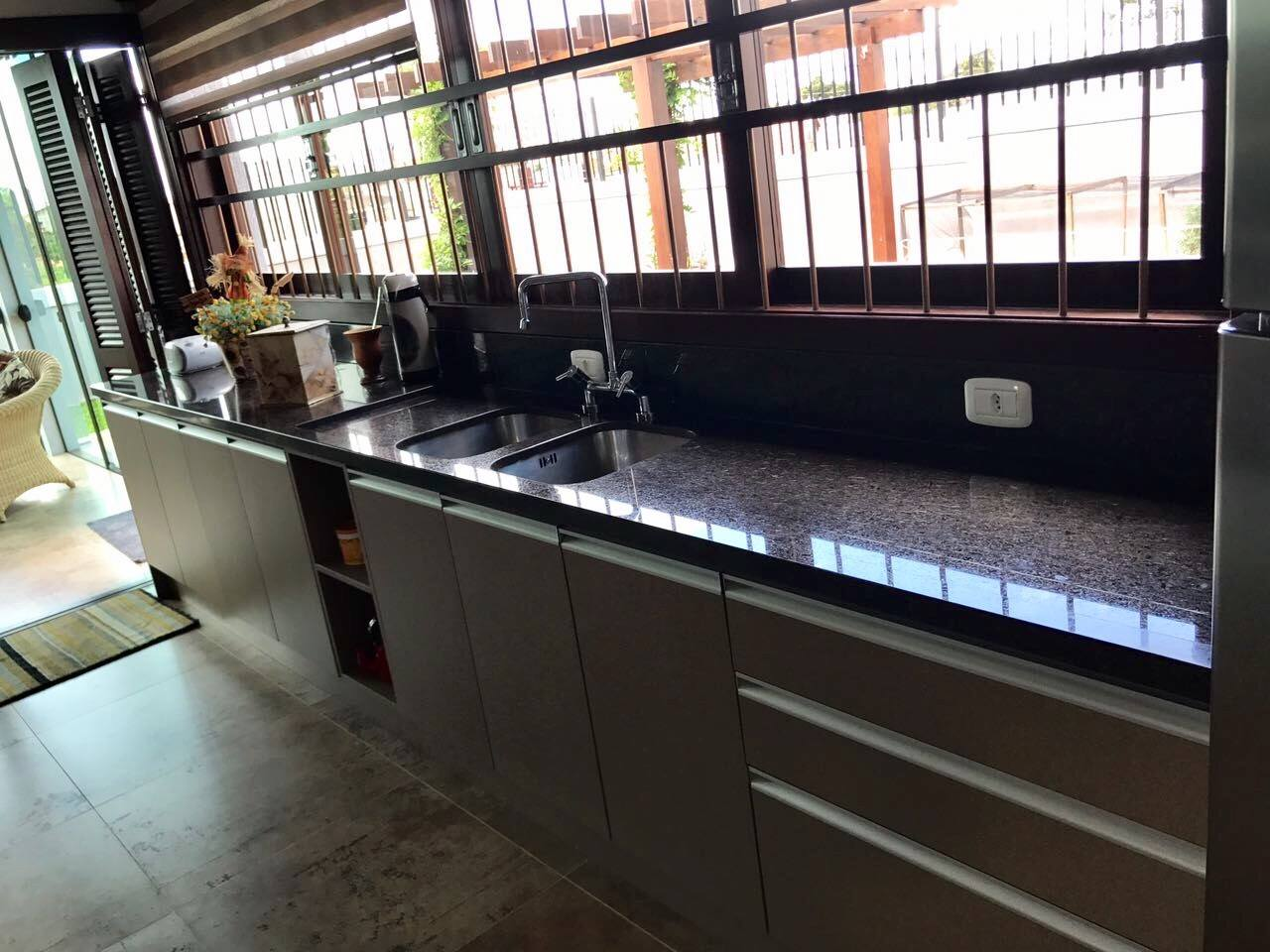 Conhecido Obras - Tampos de cozinha em Granito Café Imperial!!!! - Bella  SS36